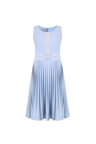 Плисирана рокля