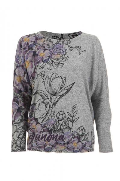 Блуза с флорални мотиви
