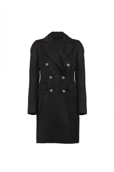 Дълго сако в черен цвят
