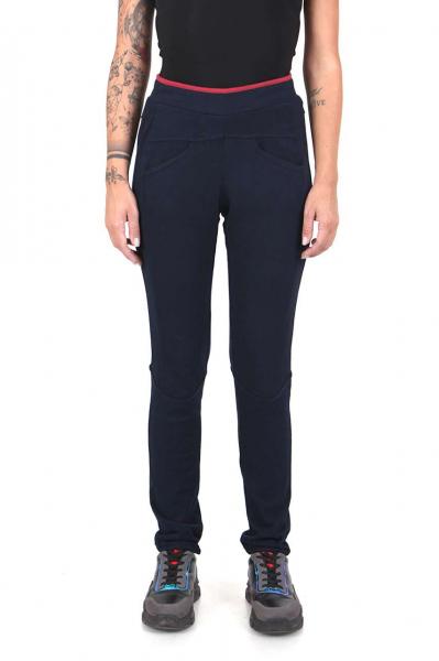 Дамски панталон син цвят