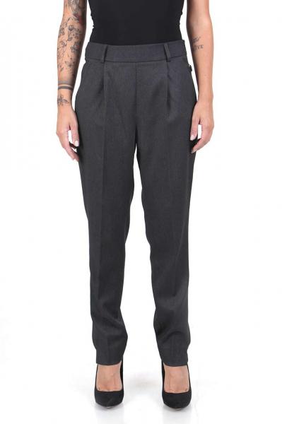 Дамски панталон в сив цвят