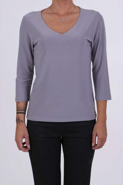 Дамска блуза в сив цвят
