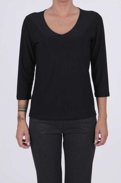 Дамска блуза в тъмносин цвят