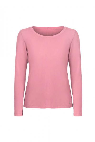 Дамска блуза в лилав цвят