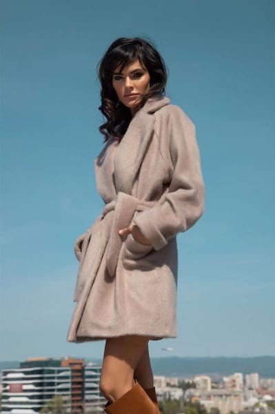 Дамско палто Teddy Bear