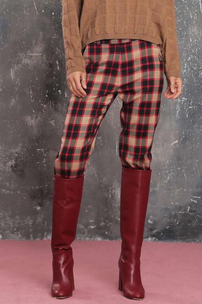 Елегантен панталон в каре