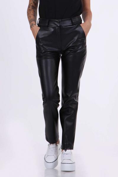 Дамски панталон от кожа