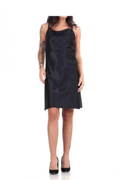 Дамска рокля от сатен