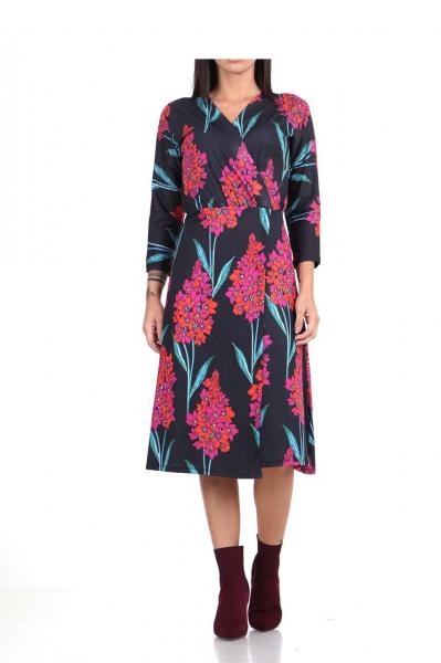Свободна многоцветна рокля