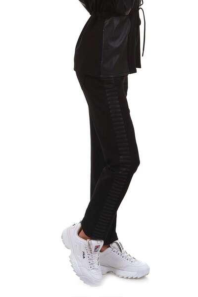 Спортен панталон с кожени части