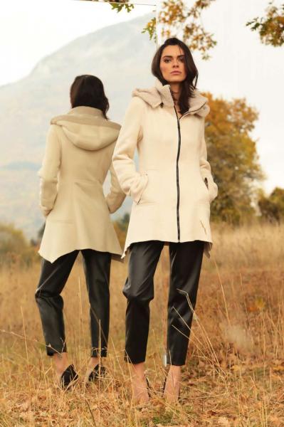 Палто с качулка