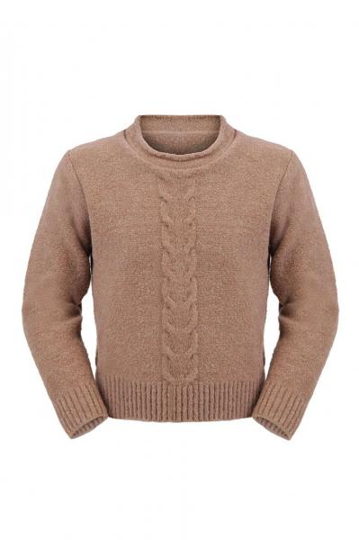 Детски пуловер от плетиво
