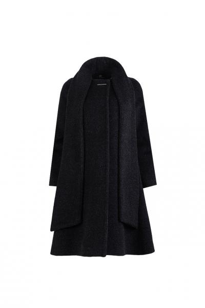 Палто с шал яка