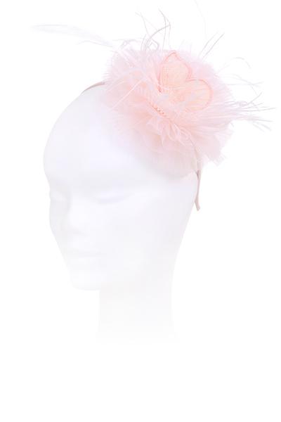 Розова детска диадема