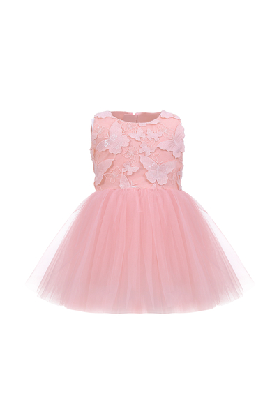 Бебешка рокля с пеперуди