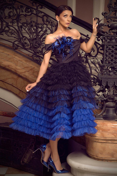 Дамска рокля Blue Magic