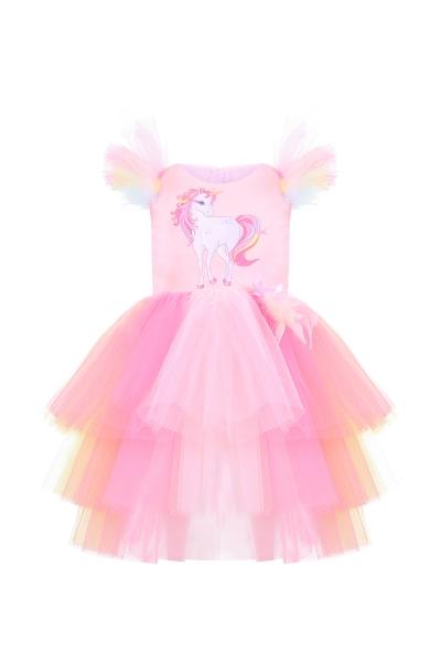 Детска рокля Еднорог
