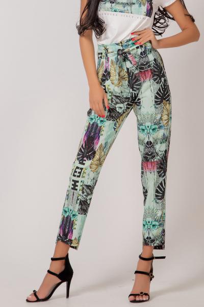 Флорален Дамски Панталон