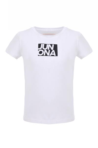 Детска тениска с лого Junona