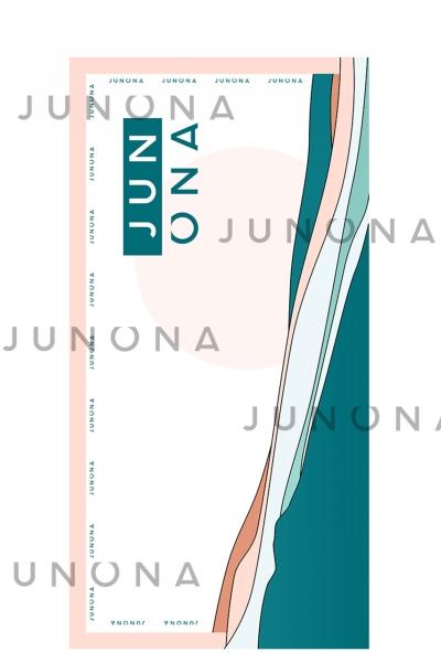 Плажна хавлия Junona Colors