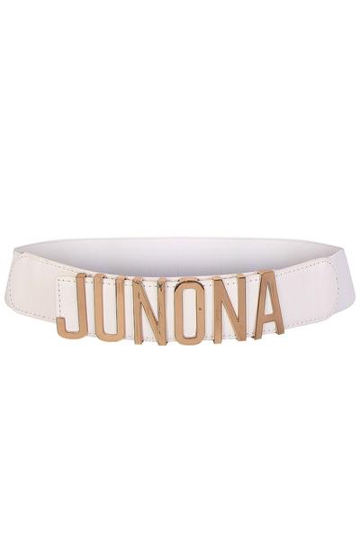 Бял колан Junona