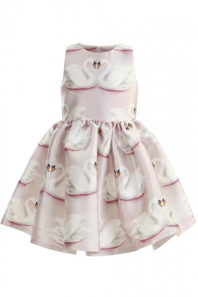 Детска рокля Swans