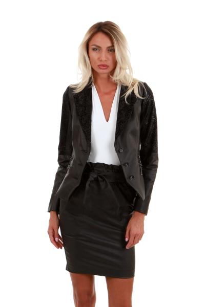 Дамско сако с ципове