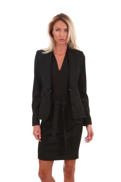 Елегантно сако с ревери
