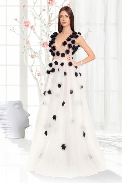 Дамска рокля Black Flower