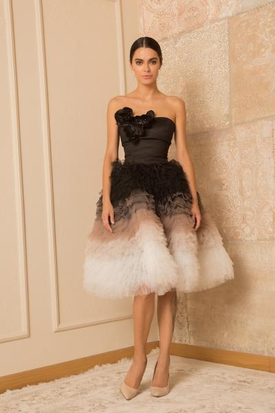 Елегантна рокля Black & White