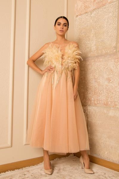 Елегантна рокля Ecru