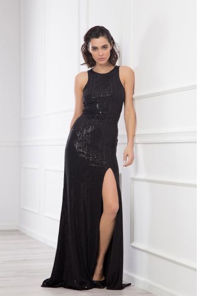 Дамска рокля Junona Black