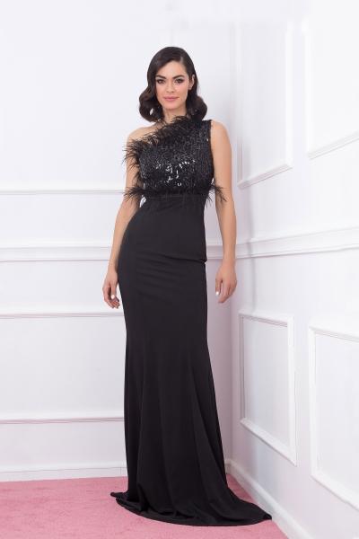Дамска рокля Black Swan