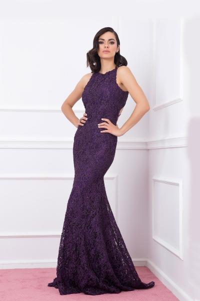Дамска рокля Junona Purple