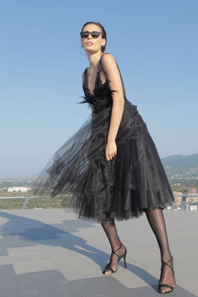 Дамска рокля Black Sapphire