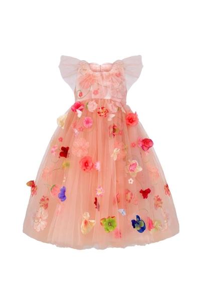 Детска рокля на цветя