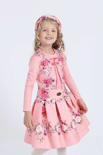 Детска блуза с панделка