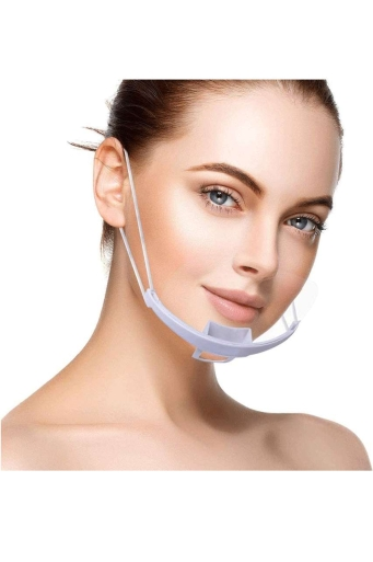 Прозрачен предпазител за уста