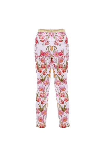 Детски панталон с флорален принт