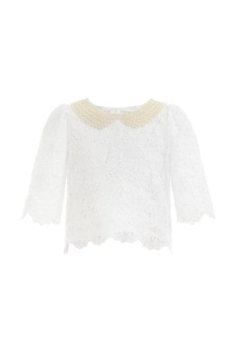 Блуза от дантела