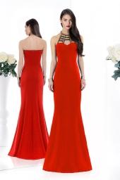 Дамска официална рокля Junona Red