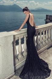 Дамска елегантна рокля Junona - Sea