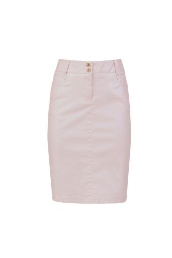 Розова пола от промазка