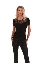 Елегантна блуза с връзки
