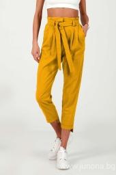 Дамски панталон от лен